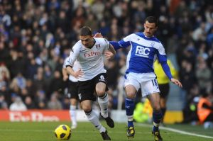 Chris Baird during his time with Fulham